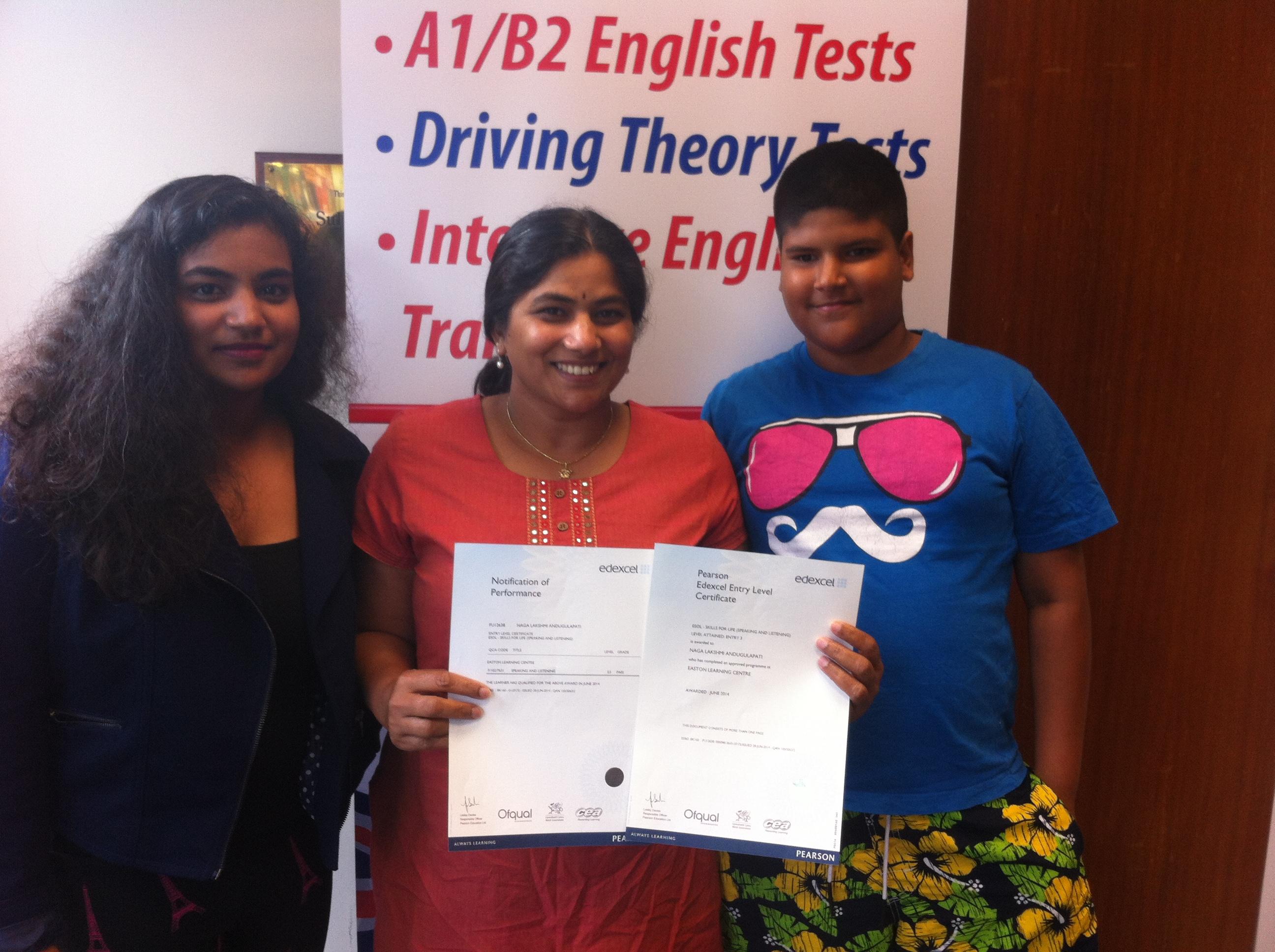 b1 pass certificate