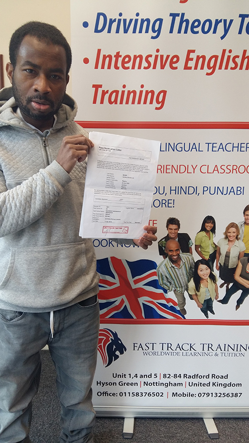 A student who has passed the Life in the UK test passed 2018