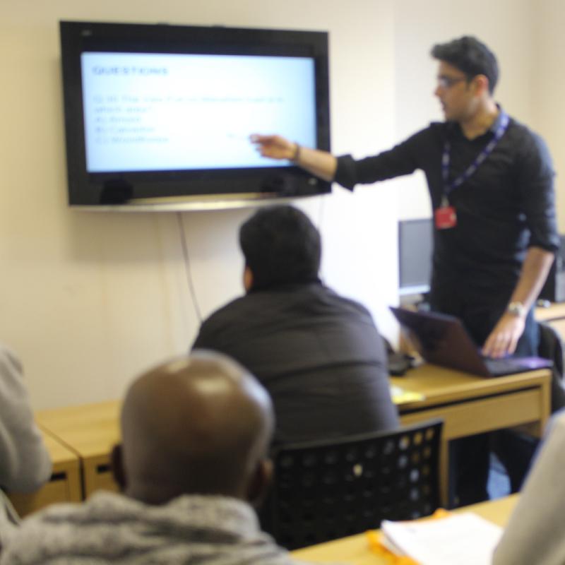 Director-teaching-class