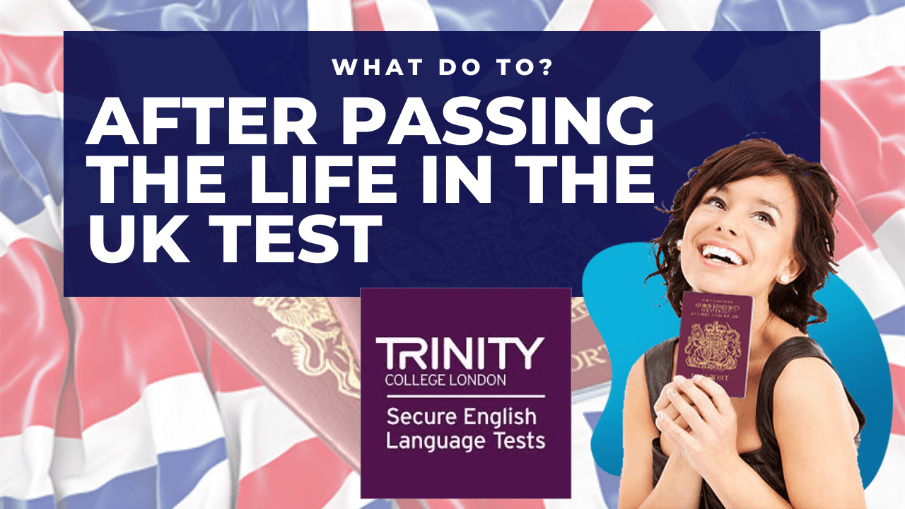 After passing the Life in the UK test you need to pass B1 English test for citizenship