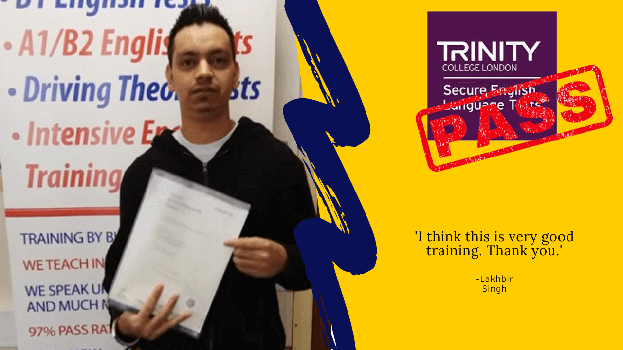 Lakhbir Singh has passed his citizenship test