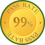 99 percent pass rate and free retraining for all students