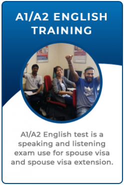 A1 A2 English Language Test Training