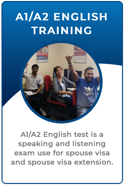 A1 A2 English Language Test Training