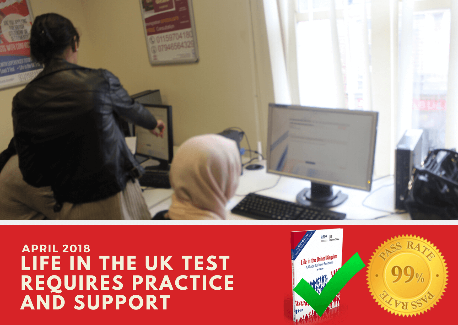 Our life in the uk test online can be practiced from home