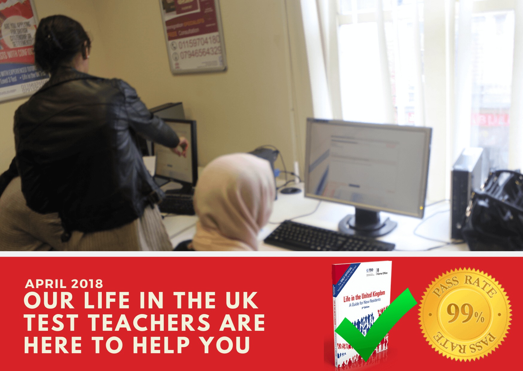 Life in the Uk test training to help students pass their exams