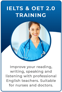 IELTS and OET 2.0 Training
