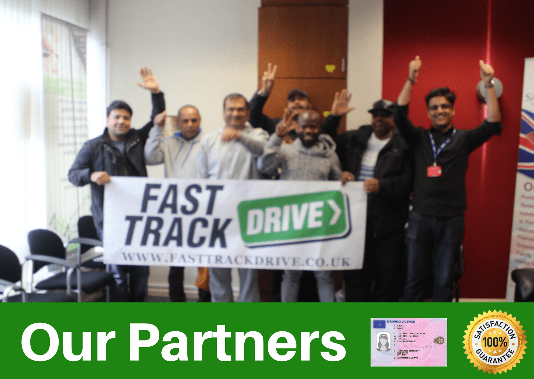 We have driving theory test training with our partners fast track drive