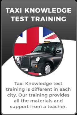 Wolverhampton taxi knowledge test training
