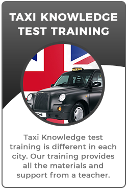 Wolverhampton taxi knowledge test training