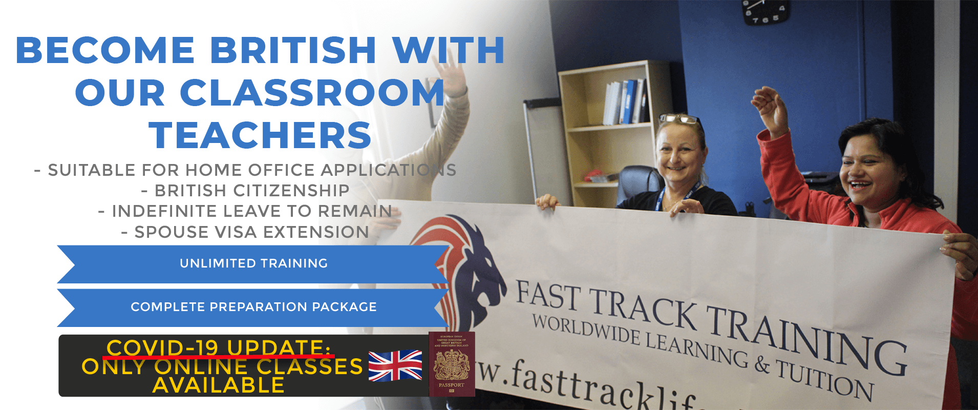 Life in the uk test classroom training