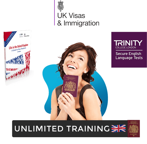 Life in the UK test book home office visa and trinity college london
