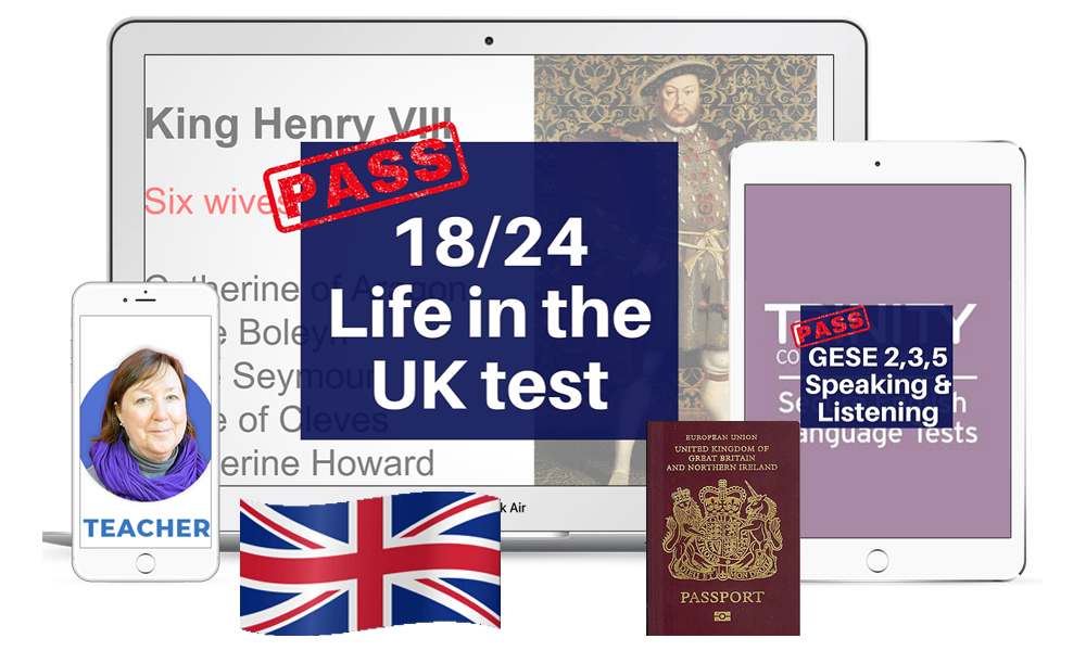 Life in the Uk test and trinity training